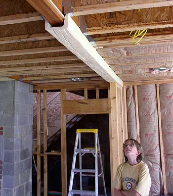 Enon Hall April 2006 Old House Restoration Journal