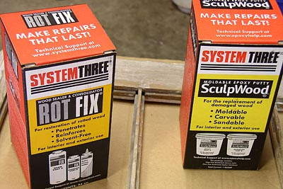 epoxy wood putty
